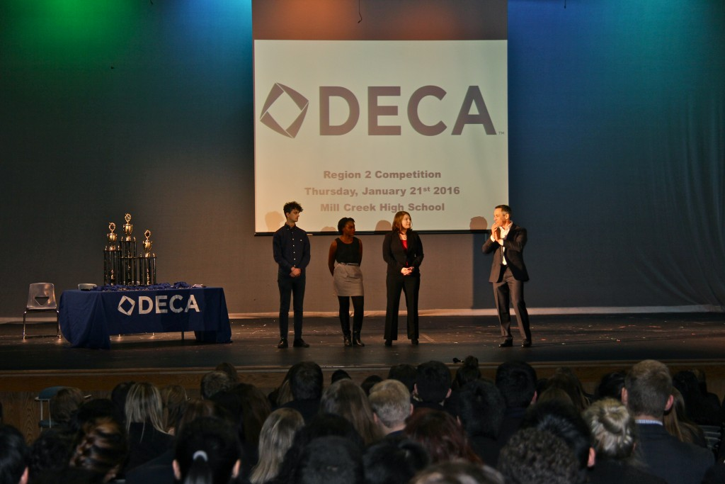 DECA Students from Brookwood High School